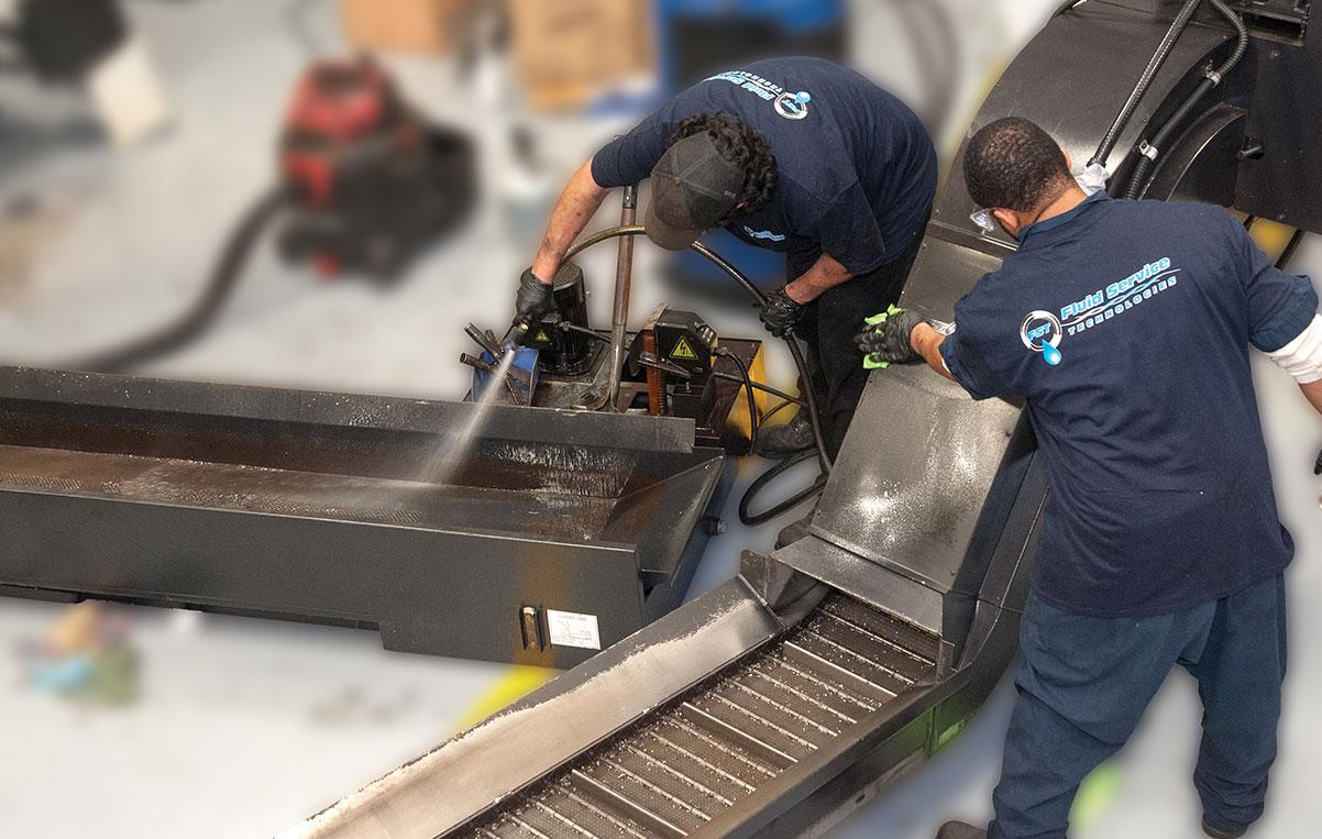 FST Machine Cleaning